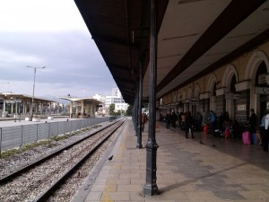Τα τρένα στον σταθμό