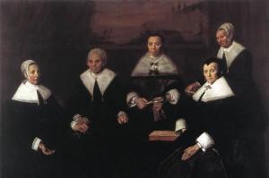 Καλόγεροι και Καλόγριες του γηροκομείου - Φρανς Χαλς (1664)