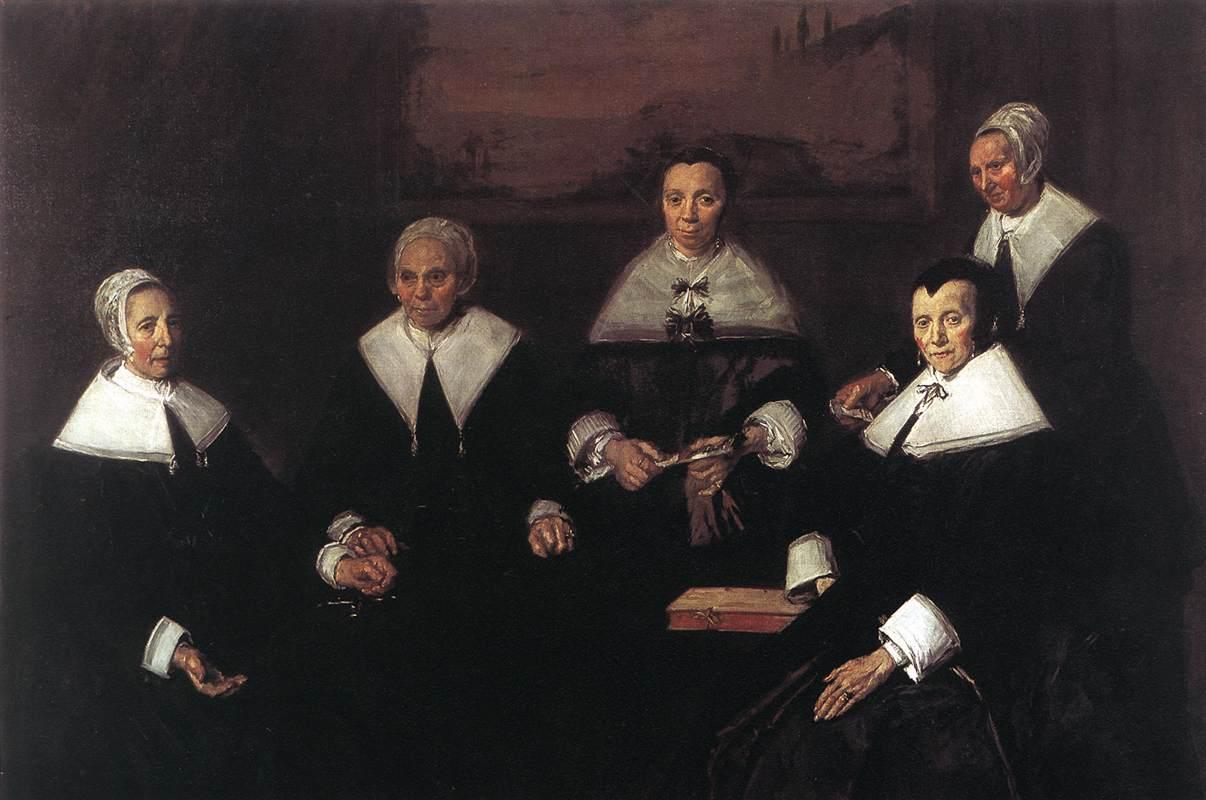 Καλόγεροι και Καλόγριες του γηροκομείου – Φρανς Χαλς (1664)