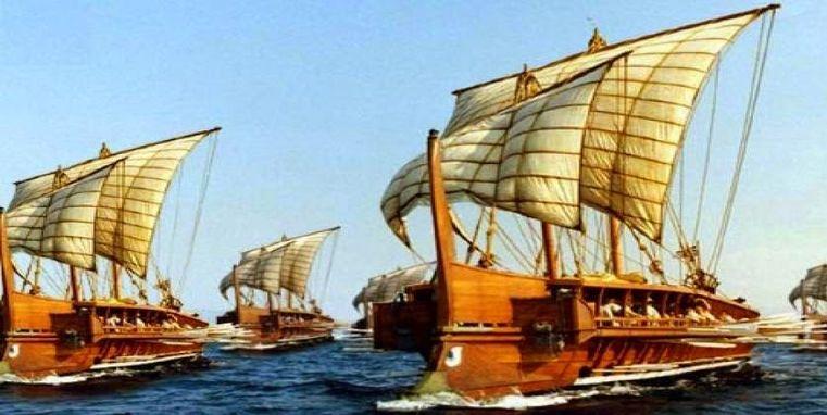 Μια απ' τις μεγαλύτερες εποποιίες του Αρχαιοελληνικού Ναυτικού