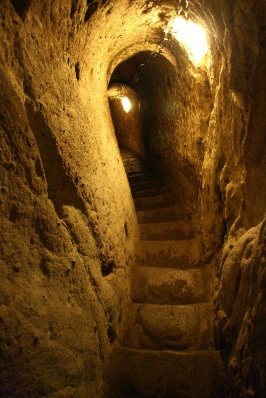 Στα υπόγεια τούνελ του Κολλεγίου Ανατόλια