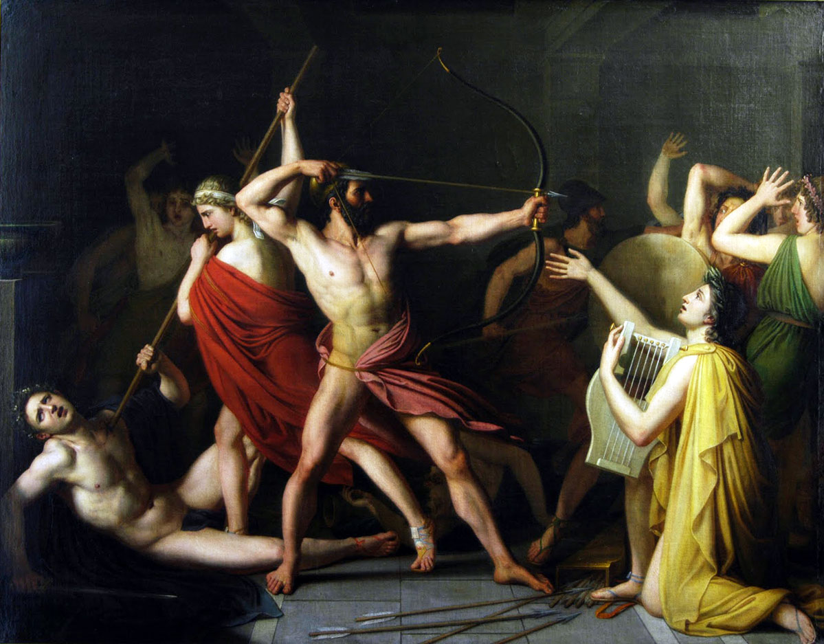 Οδυσσέας, Πηνελόπη και ο καταραμένος όφις….. αυτός της απιστίας…..