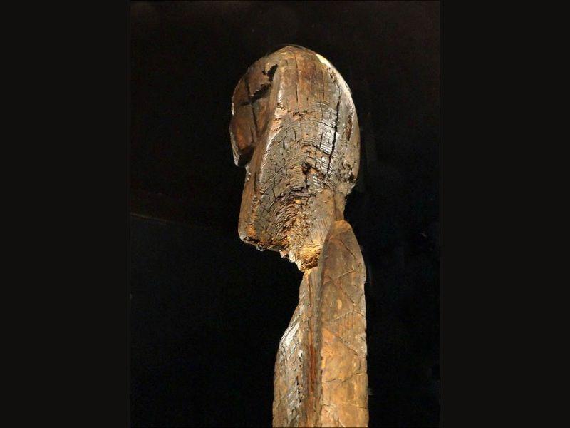 Ποια είναι τα κωδικοποιημένα μηνύματα που κρύβει το αρχαιότερο ξύλινο άγαλμα  για την δημιουργία του κόσμου