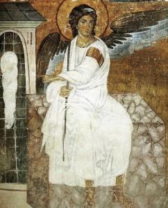 Ο Λευκός Άγγελος της Ι. Μονής Μιλέσεβα της Σερβίας