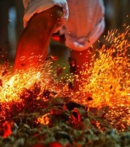 Το καθαρτήριον πῦρ: Το έθιμο της πυροβασίας