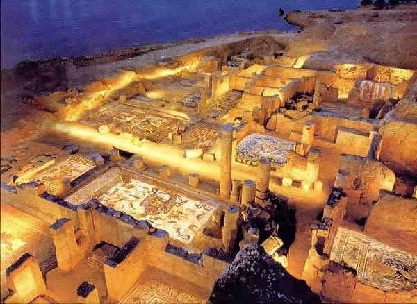 Αρχαιολογικός χώρος νυχτερινό
