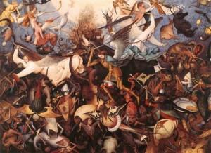 Pieter Bruegel ο πρεσβύτερος, Η πτώση των επαναστατημένων αγγέλων (1562)