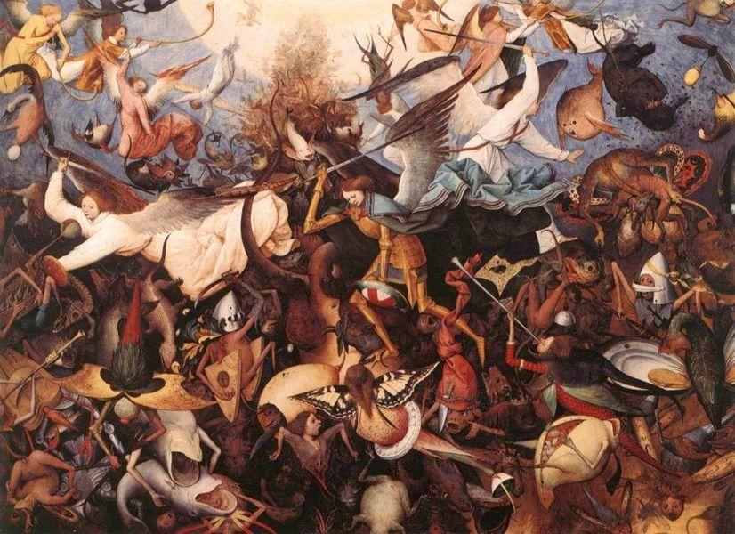 Pieter Bruegel ο πρεσβύτερος, Η πτώση των επαναστατημένων αγγέλων