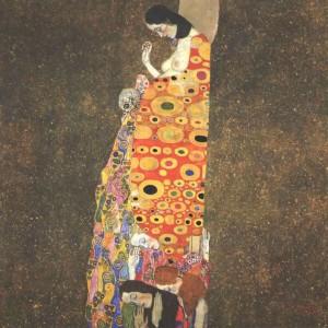 Gustav Klimt, Η Ελπίδα ΙΙ (1907-1908)