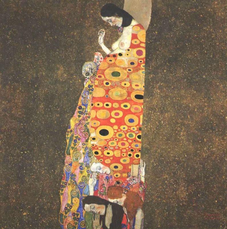 Ελπιδα ΙΙ Klimt
