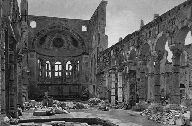 Ο Ναός του Αγίου Δημητρίου στην Θεσσαλονίκη.