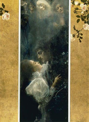 Gustav Klimt, Αγάπη (1895)