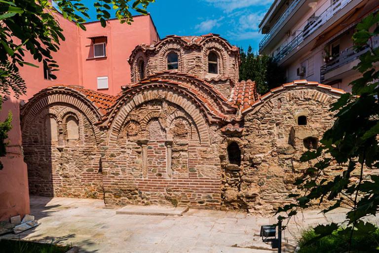 Τα βυζαντινά λουτρά στην Άνω Πόλη (14ος αι.)