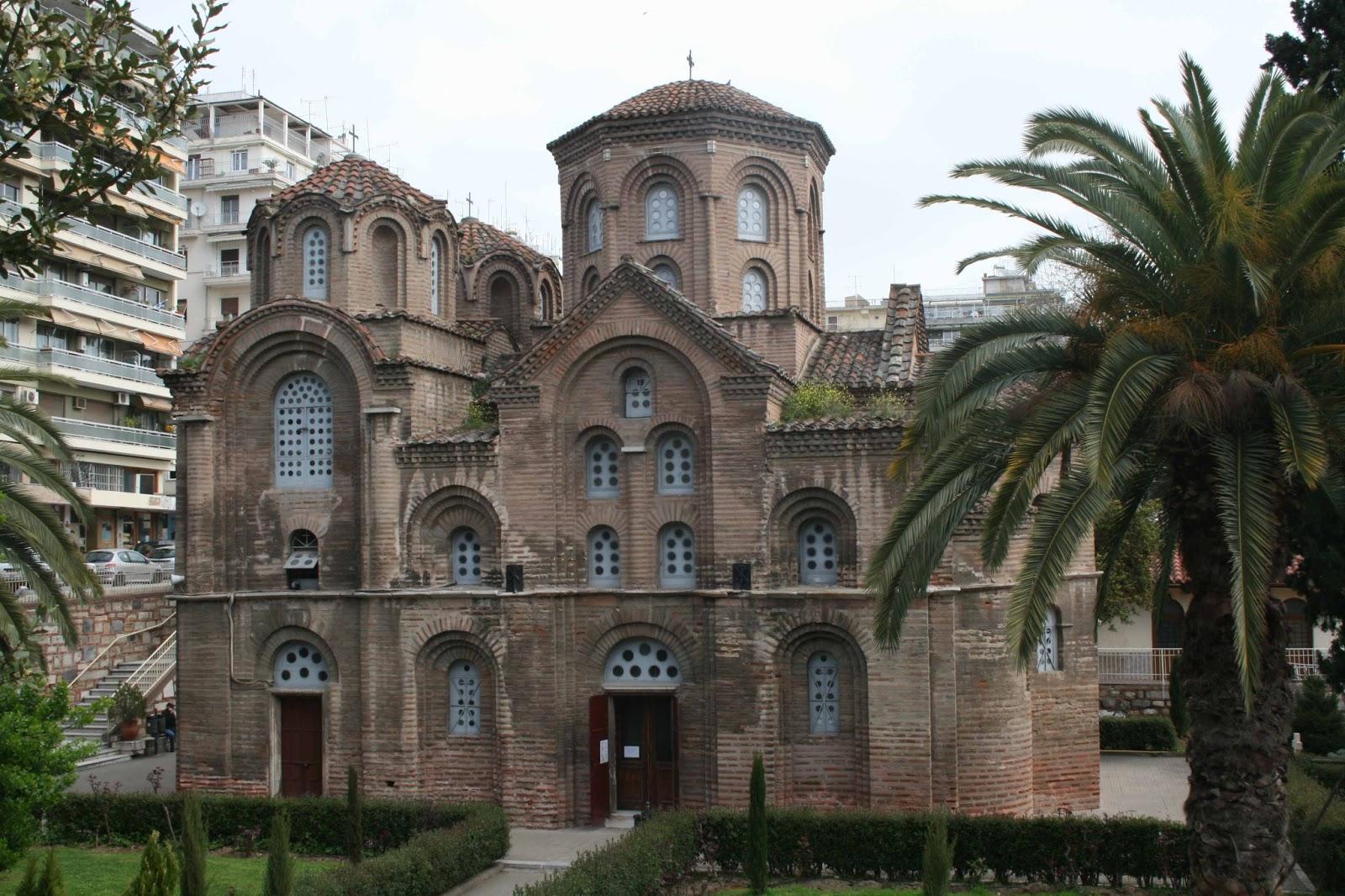 Η Παναγία των Χαλκέων (11ος αιώνας)
