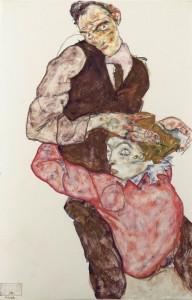 Egon Schiele, Οι Εραστές (1914-1915)