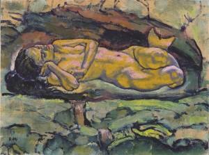 Koloman Moser, Mermaid (1914)