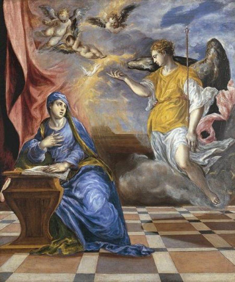 Ο Ευαγγελισμός στα έργα του El Greco