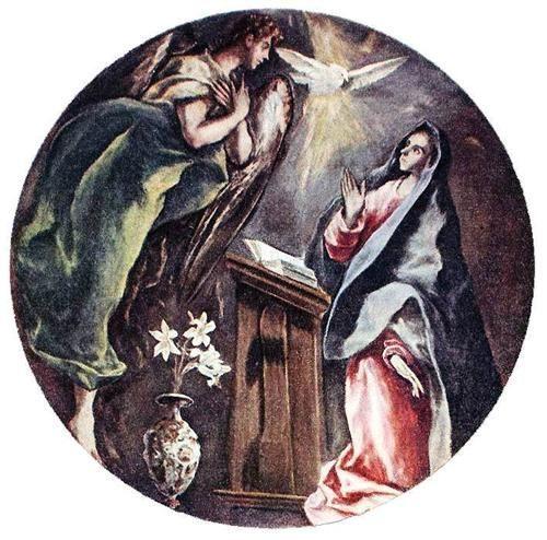 Ελ Γκρέκο, Ο Ευαγγελισμός, (1603-1605), Νοσοκομείο του Ελέους Ιλλέσκας Ισπανία