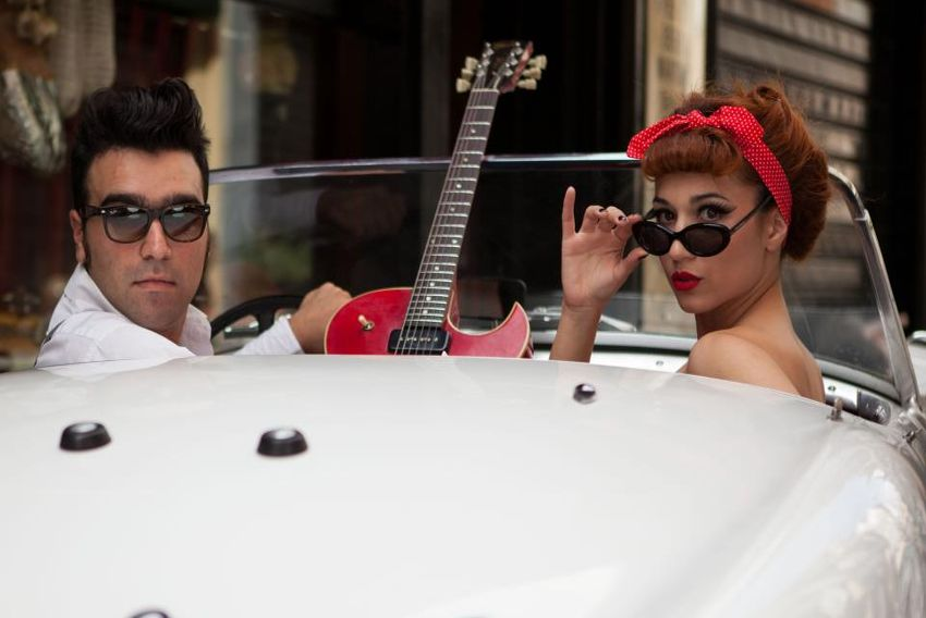 Penny &The Swingin Cats: το «Εξωτικό Χαρμάνι» μια κεφάτης μπάντας