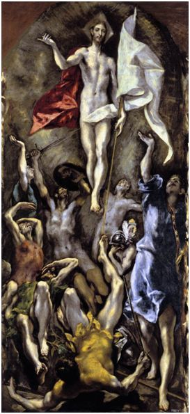 El Greco, Η Ανάσταση (1597-1600)