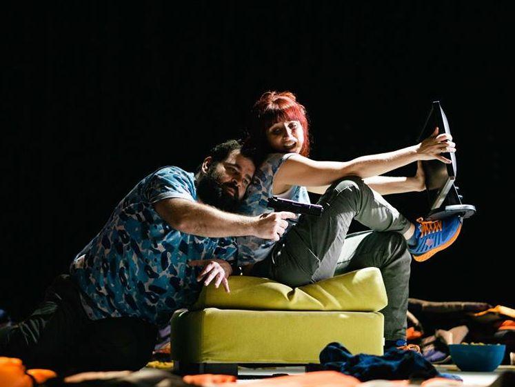 «Η Απειλή» στο μικρό θέατρο της μονής Λαζαριστών *κριτική
