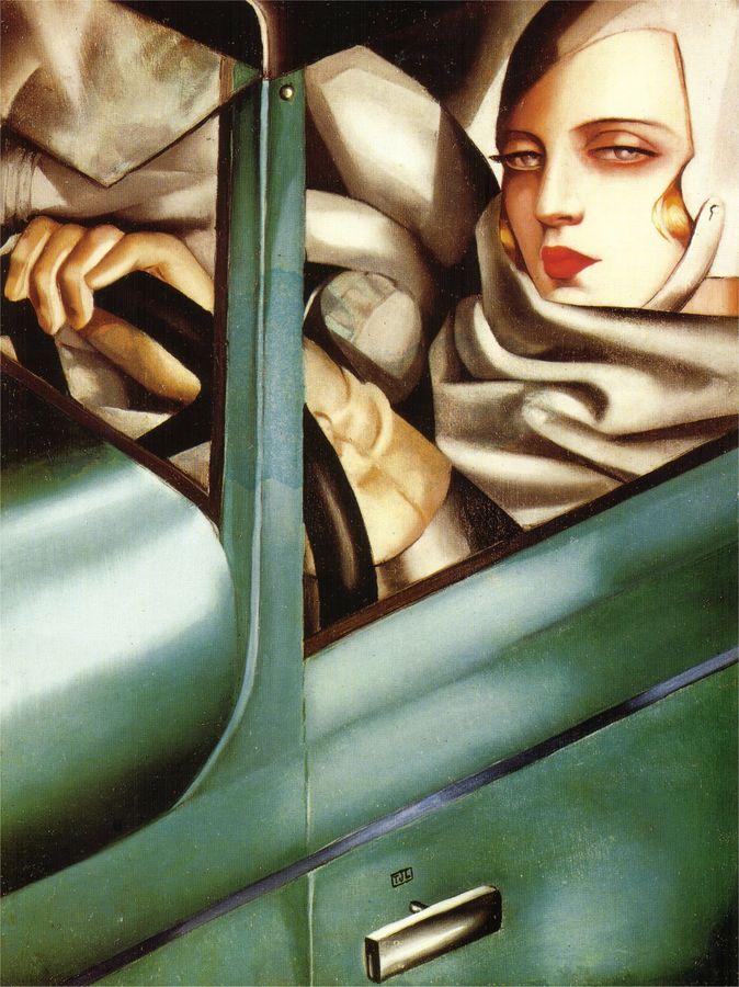 Lempicka Self Portrait 1929 (1)