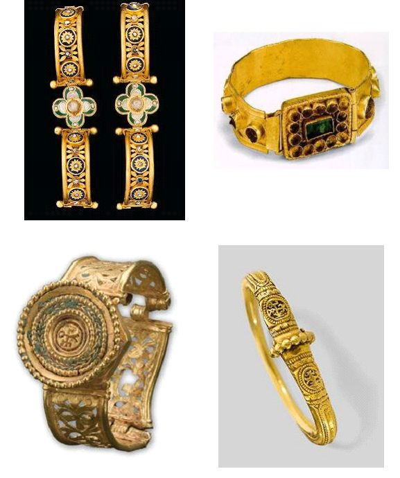 Βυζαντινά περικάρπια 6ος -7ος αιώνας