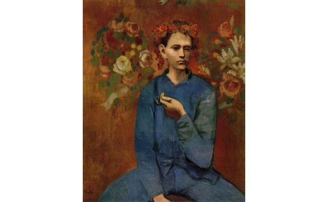 """Pablo Picasso Αγόρι με πίπα (""""Garçon à la pipe"""") 1905"""