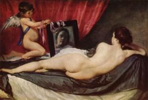 """Diego Velazquez """"Η Αφροδίτη μπροστά στον καθρέφτη"""""""