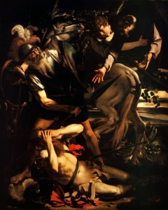 Η Μεταστροφή του Αγίου Παύλου, Caravaggio (1601)