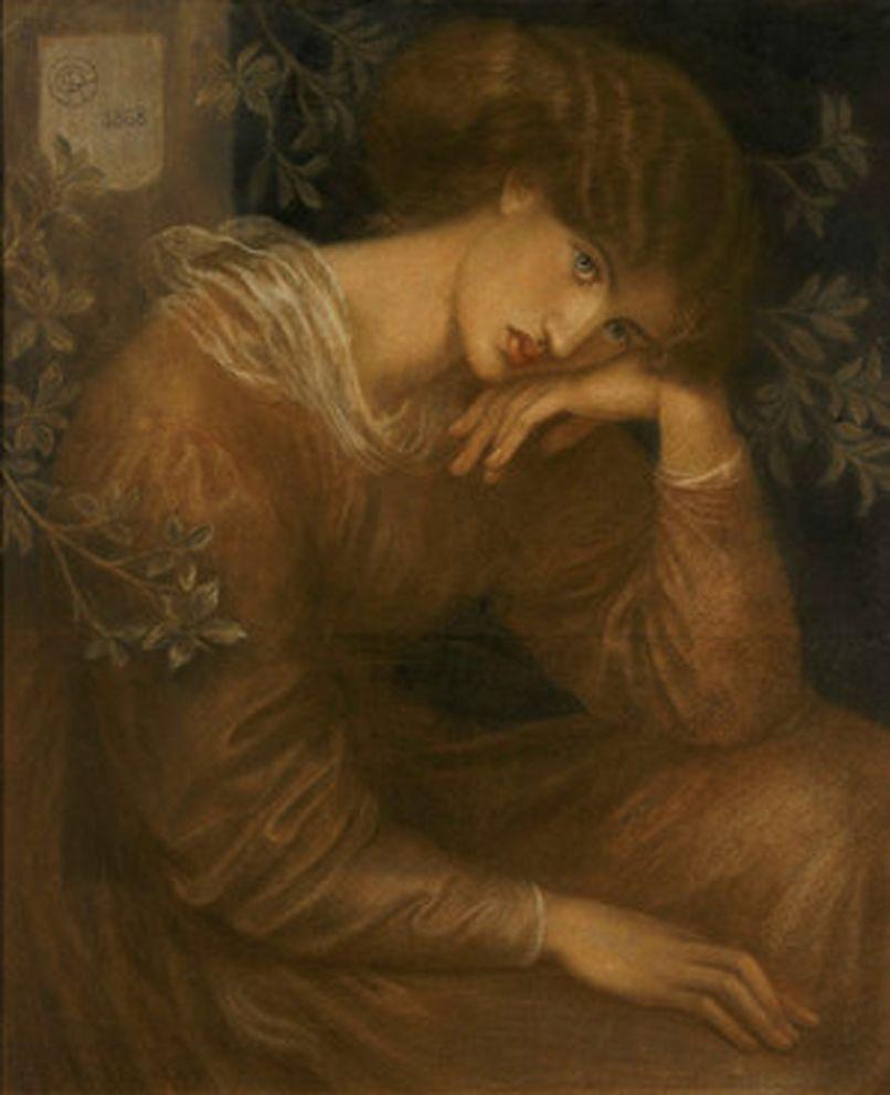 8. Rossetti, Reverie, 1868