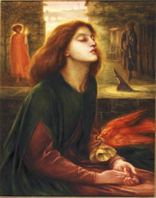 9. Rossetti Beata Beatrix, 1863