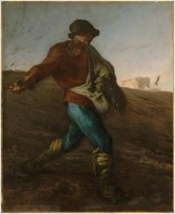 Jean-François Millet (Ζαν Φρανσουά Μιγέ) Ο σπορέας  (1850)