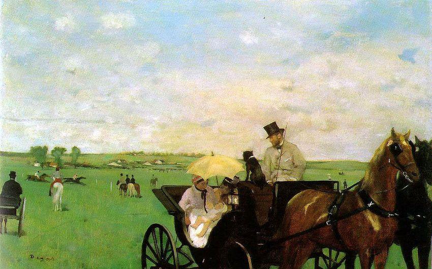 Οι επιδράσεις της Φωτογραφίας στη Ζωγραφική του 19ου αιώνα: Degas και φωτογραφικό κάδρο στη ζωγραφική