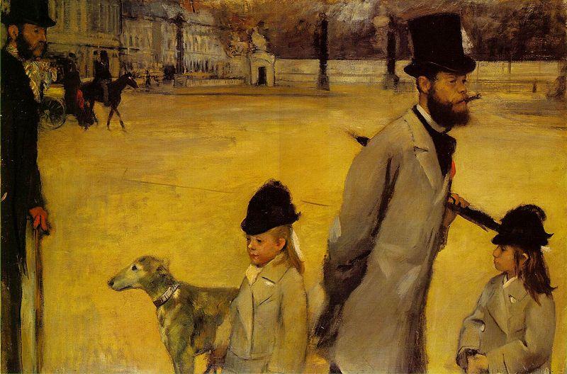 2. Edgar Degas, Place de la Concorde