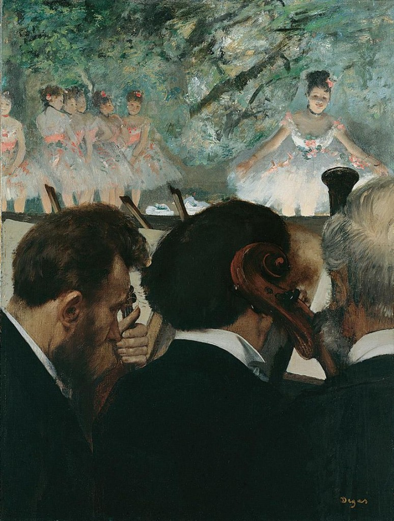3.Degas, Musicians, 1970