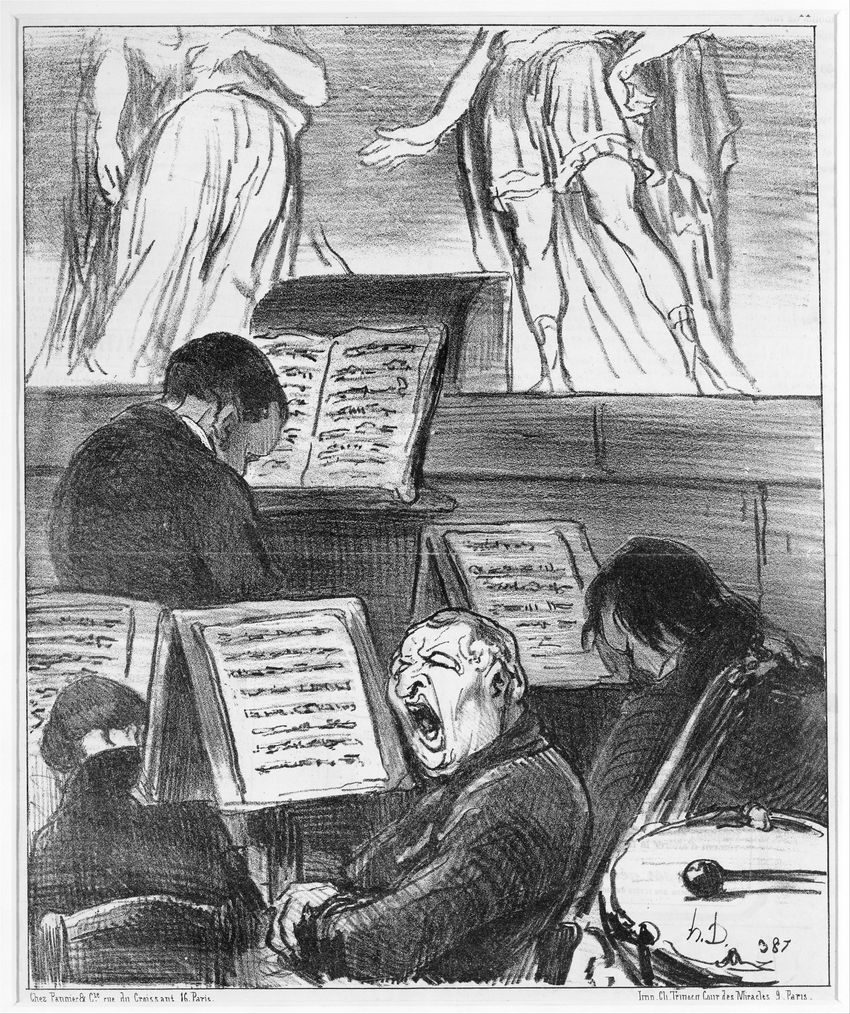 4. Daumier Orch Tragedy