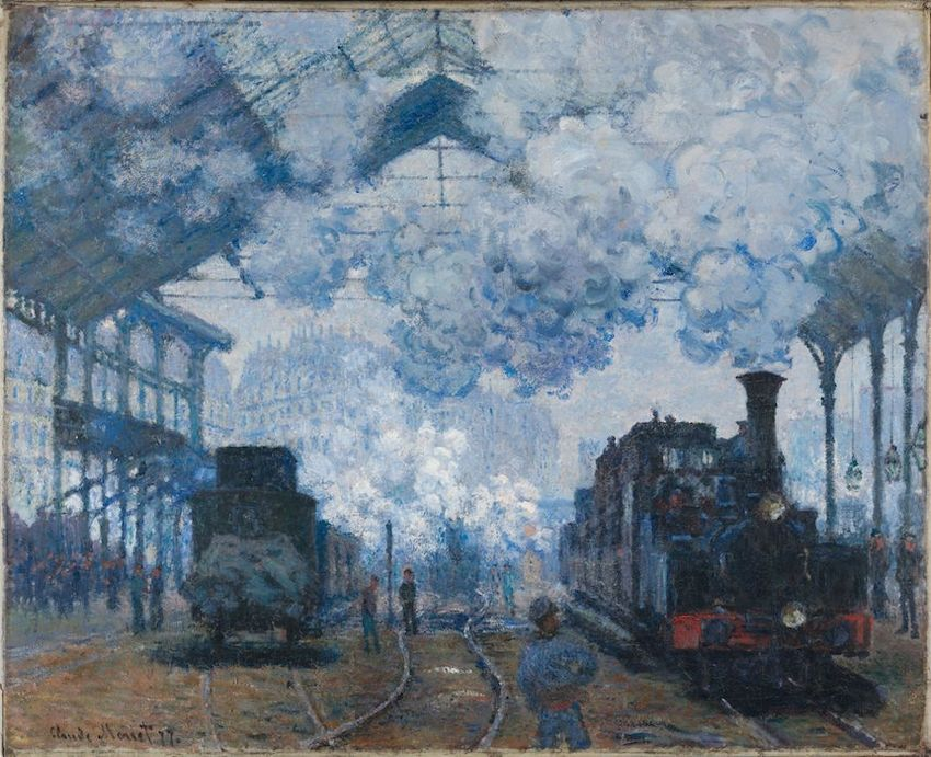 Monet, Saint Lazare