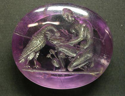 αμεθυστος «ΦΥΛΑΞ – Τα φυλακτά της ύστερης αρχαιότητας»