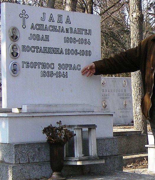 ο τάφος του Ζορμπά στα Σκόπια