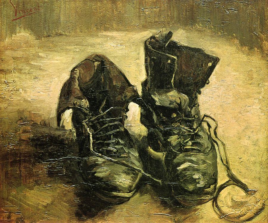 Vincent van Gogh, Παπούτσια (1886)