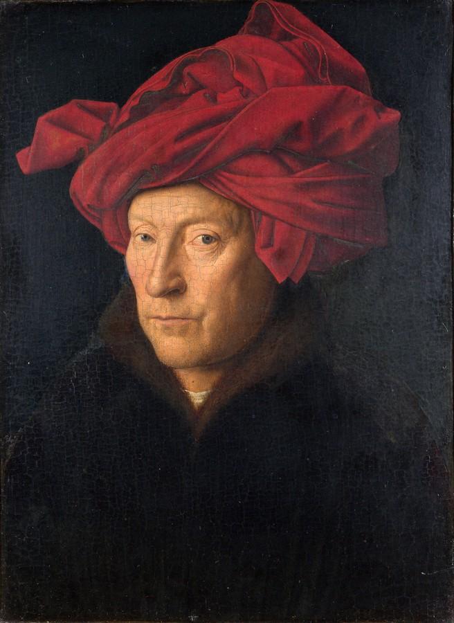 Jan van Eyck, Portrait of a man, 1433