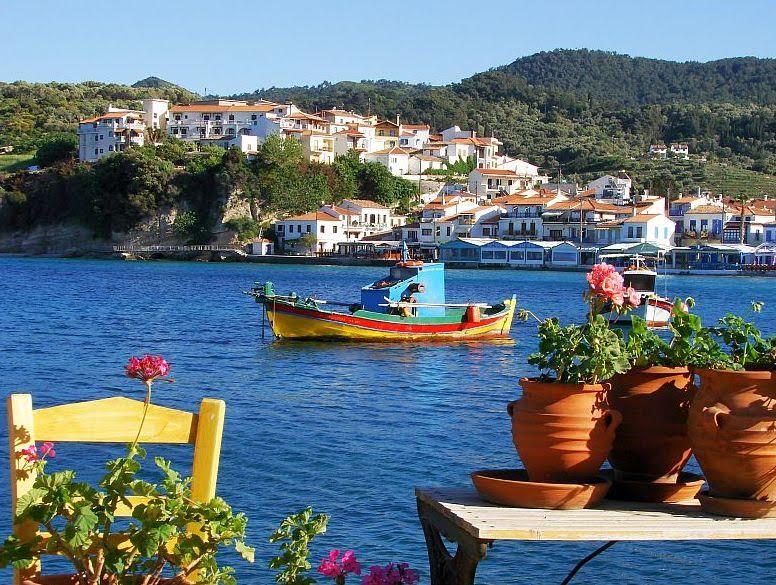 Καλοκαιρινά ελληνικά τοπία