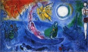 Marc Chagall, η συναυλία (1957)