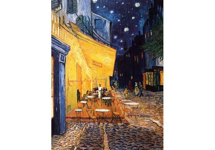 Vincent van Gogh, Νυχτερινό καφενείο με έναστρο ουρανό (1888)