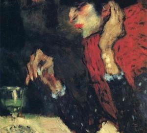 Pablo Picasso «Γυναίκα που πίνει αψέντι»