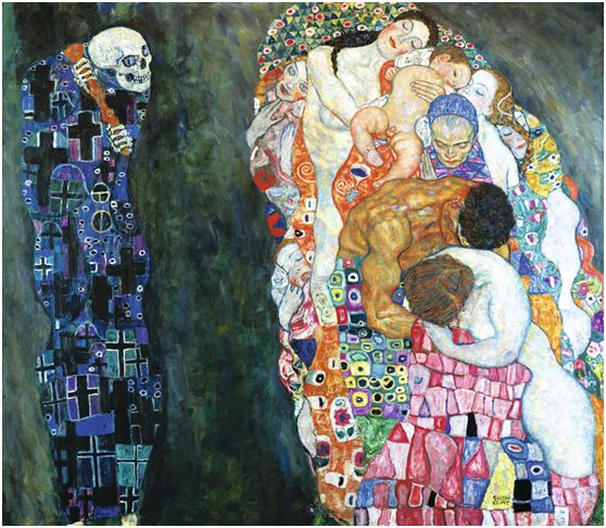 Gustav Klimt – Θάνατος και ζωή (Tod und Leben) (1910-1915)