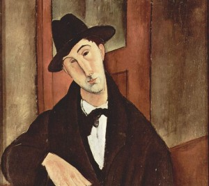 "Amedeo Modigliani ""Πορτρέτο του Μάριου Βάρβογλη"""