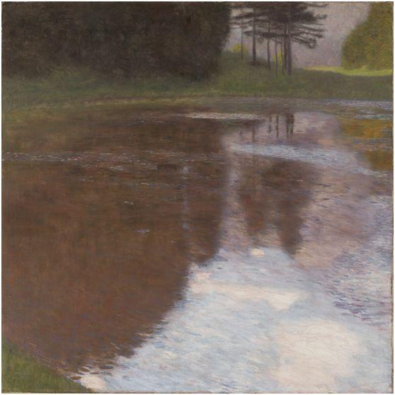 Gustav Klimt, Ein Morgen am Teiche