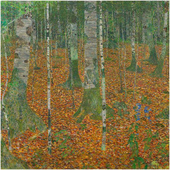 Gustav Klimt, Birkenwald
